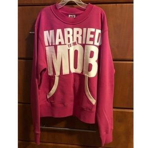 married to the mob crewneck